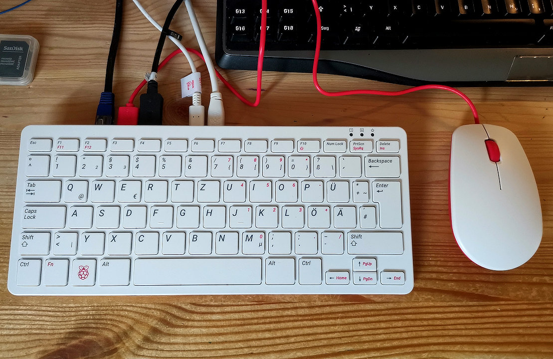 Raspberry Pi 400 Top
